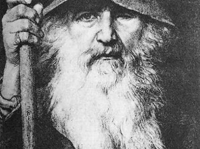 Il saggio viandante (Odino)