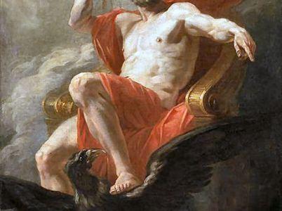 Crono e Zeus, un rapporto conflittuale fra padre e figlio