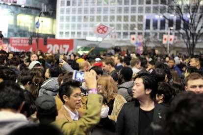 Anarchy in Shibuya (sort of)