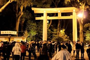 Tous au temple Meiji !