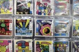 Vieux stickers hors de prix