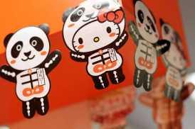 Hello Kitty Squelette Panda