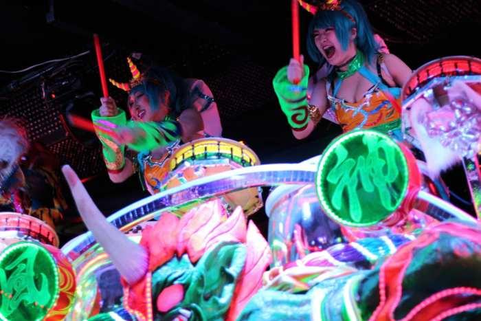 Robot Restaurant, un carnaval dans un sous-sol