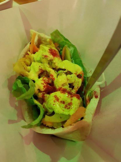 Kébab de falafel