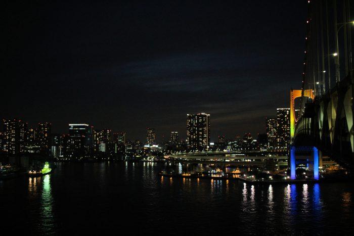 Traverser le Rainbow Bridge de Tokyo à pied