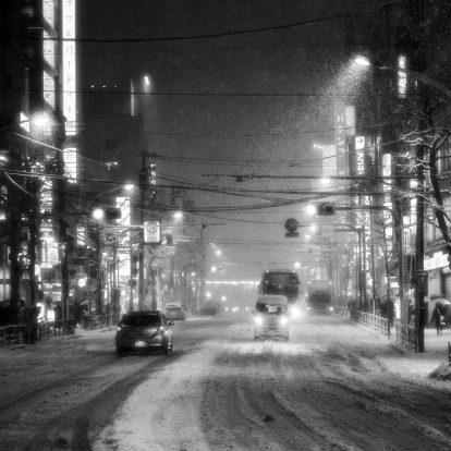 Neige à Takadanobaba (17)