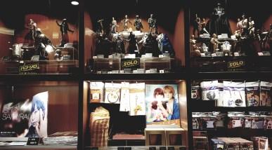 Boutique - La sélection change selon les films à l'affiche