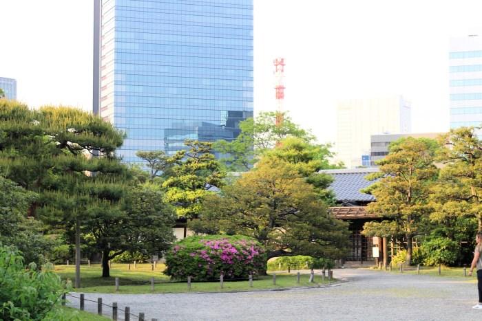 Faire une pause à Hamarikiyu Garden