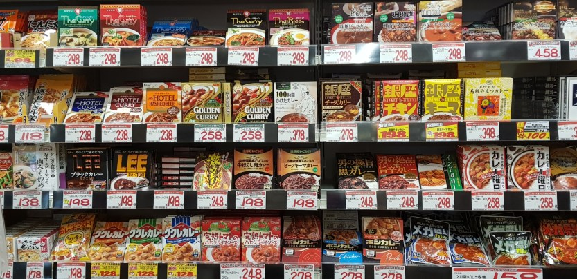 Au sous-sol : rayon supermarché