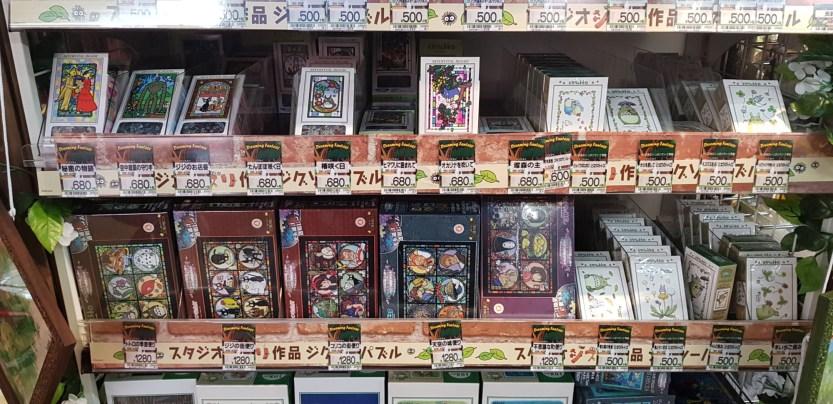 Puzzles Ghibli