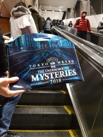 Puzzle Game dans le métro de Tokyo: Tokyo Metro Underground Mysteries