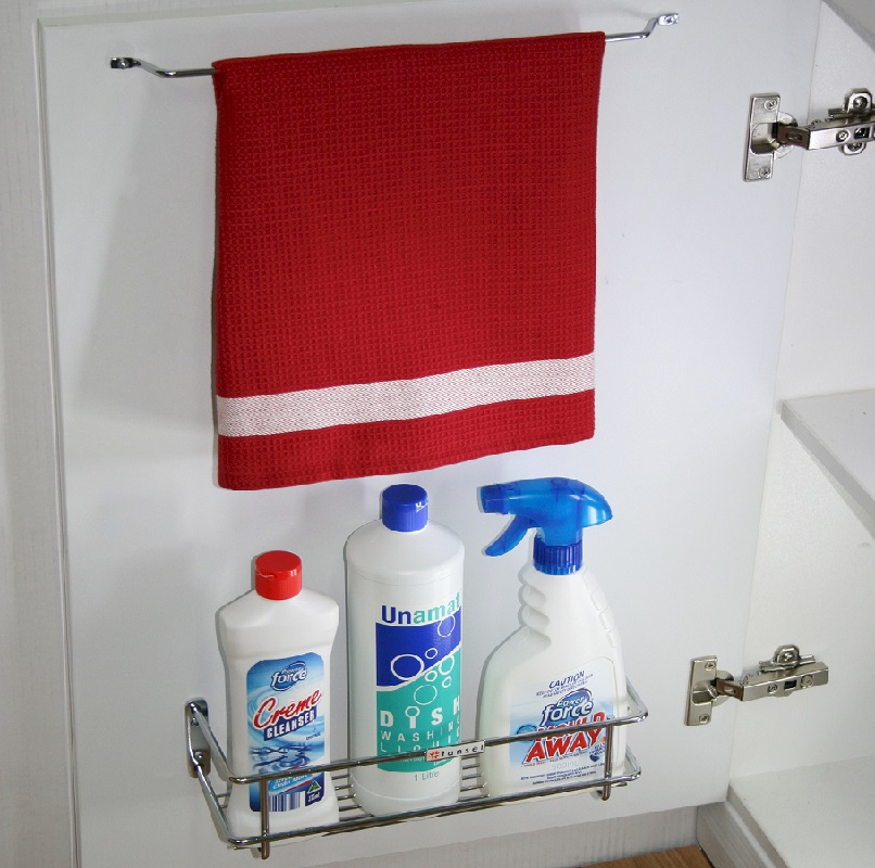 Stainless Steel Tea Towel Rail For Kitchen Cabinets