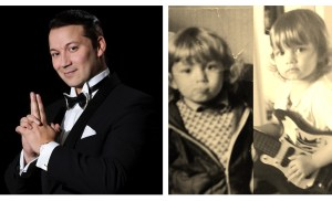 Marco Lundberg julkaisi hämmentävät kuvat – kumpi on isä, kumpi poika?
