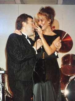 """""""Tangokuninkaani Risto Nevalan kanssa vuonna 1989."""""""