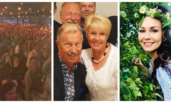 Juhannus tanssitähtien silmin: Yleisöennätyksiä, kukkojen hoitoa, iloa – ja varastettu hauki