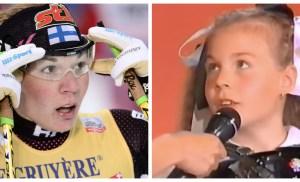 Syöpään 36-vuotiaana kuollut hiihtäjä Mona-Liisa Nousiainen oli harmonikkamestari – katso videot