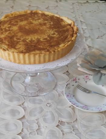 Traditional South African Milk tart