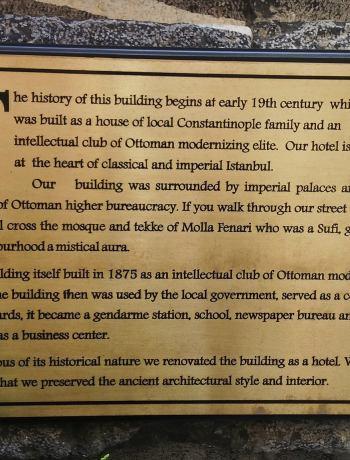 Hotel Miniature origins