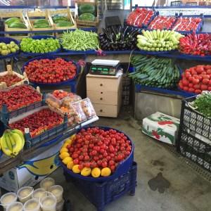 Local seasonal vegetables
