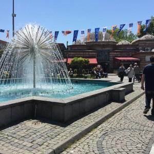 Public park and rest area