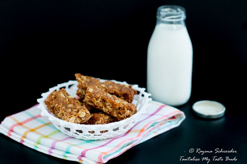 Crunchies - oat and coconut cookies