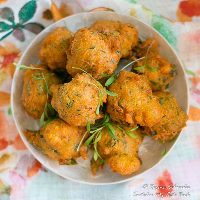 Daltjies Spinach and corn fritters