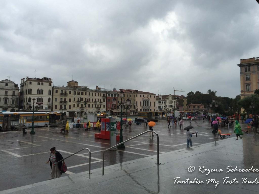 Steps of Santa Lucia Station Venice