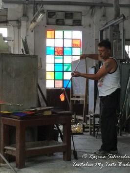 Murano glass studio