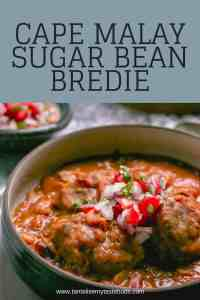 Cape Malay Sugar Bean bredie PIN