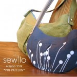 Margo Tote PDF Sewing Pattern by sewlopatterns
