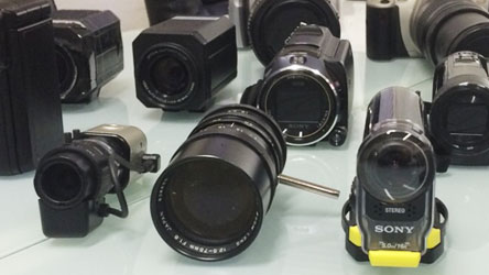 探偵調査で使用するカメラの写真