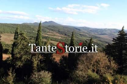 Le colline senesi tra Castiglioncello sul Trinoro e Radicofani