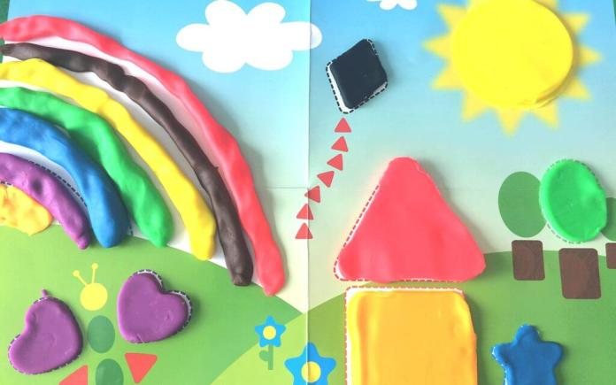 Play Doh Kleuren en Vormen