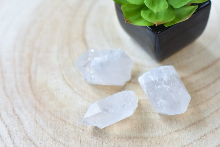 Bergkristal brokjes