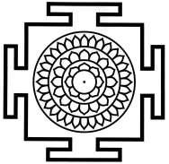 Yantra de Sarvamangala Nitya