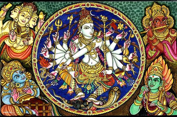 En India, hay seis formas principales de Shivaismo, de las cuales tres son esenciales