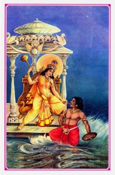 Mahavidya Bagalamukhi, La sabiduría de la detención instantánea