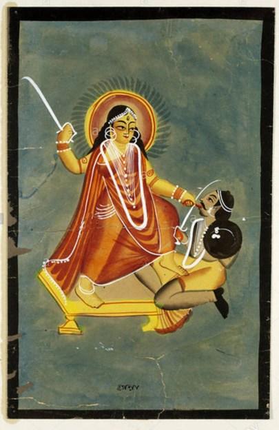 Bagalamukhi se asemeja a Tripura Bhairavi