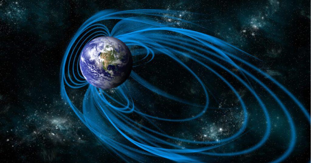 La polaridad de la tierra nos mantiene a salvo de las inclemencias espaciales