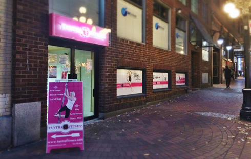 Tantra Fitness Gastown Location on Water Street in Vancouer
