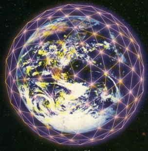 La Rejilla de Luz de la Tierra