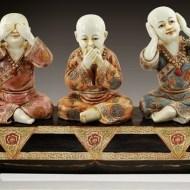 La risa o Los tres monjes budistas