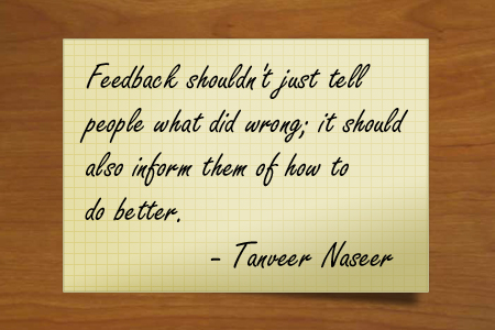 Discover whether the kind of feedback you offer to your employees is employing this critical measure that drives organizational growth and success.