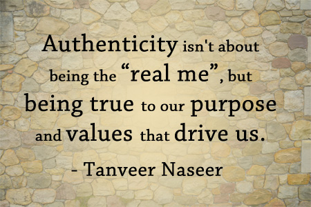 "Discover why authenticity in leadership is not about being the ""real you"", but about understanding what your purpose and core values are."