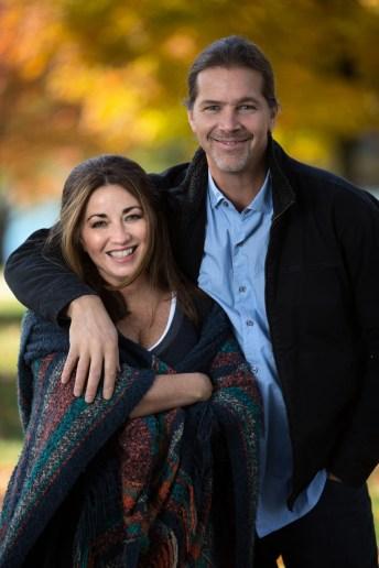 Tanya with husband Scott