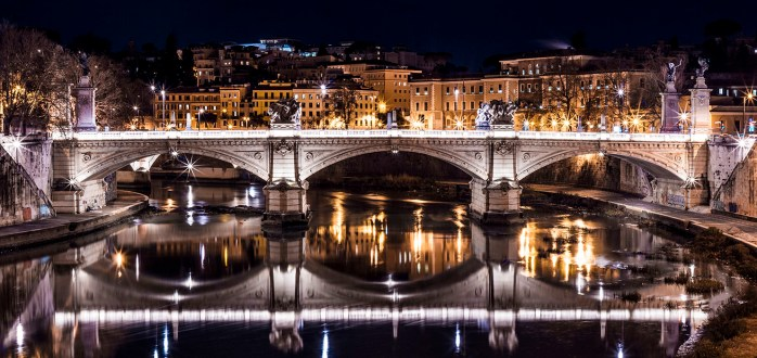 Bridge of Nero at Night
