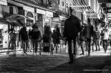 Series of Black and white photographs taken in the streets of Florence, Italy. Photography collection created by Fine Art photographer Tanya Antalikova