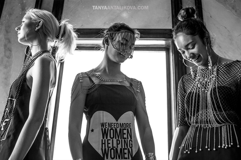 Sustainable Community Fashion Week in San Francisco photographed by Tanya Antalikova Photography
