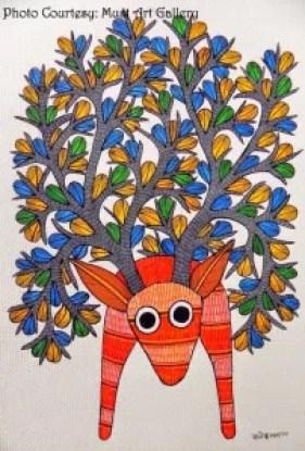 Art work by Rajendra Kumar Shyam