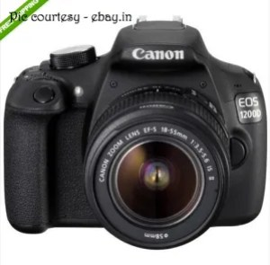 Canon EOS 1200D Digital SLR Camera at ebay.in